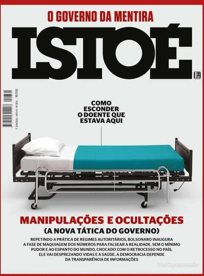 Capa da revista ISTOÉ 12/06/2020