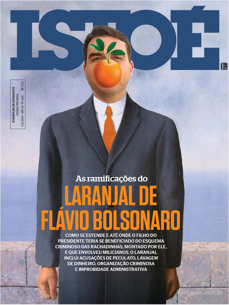 Capa da revista ISTOÉ 26/06/2020
