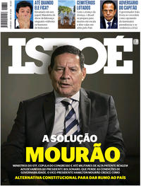 Capa da revista ISTOÉ 03/04/2020