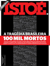 Capa da revista ISTOÉ 07/08/2020