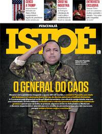 Capa da revista ISTOÉ 15/01/2021