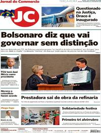 Capa Jornal do Commercio 2018-12-11