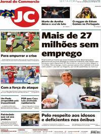 Capa Jornal do Commercio 2018-08-17