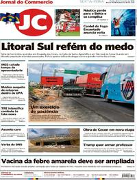 Capa Jornal do Commercio 2018-02-23