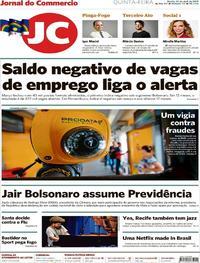 Capa Jornal do Commercio 2019-04-25