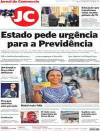 Capa Jornal do Commercio 2019-12-11