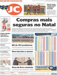 Capa Jornal do Commercio 2019-11-14