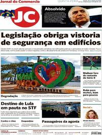 Capa Jornal do Commercio 2019-10-17