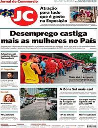 Capa Jornal do Commercio 2019-11-20