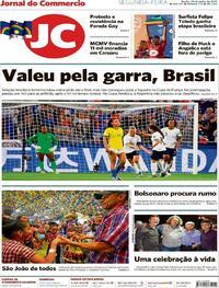 Capa Jornal do Commercio 2019-06-24