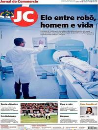 Capa Jornal do Commercio 26/05/2019
