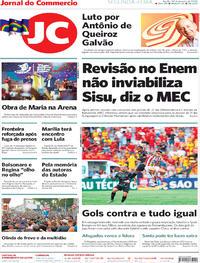 Capa Jornal do Commercio 2020-01-20
