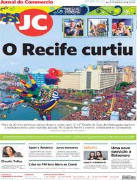Capa Jornal do Commercio 2020-02-23