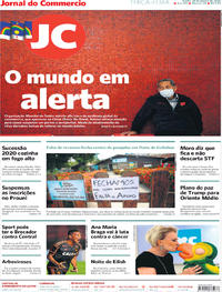 Capa Jornal do Commercio