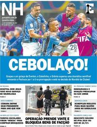 Capa Jornal NH 2017-12-13