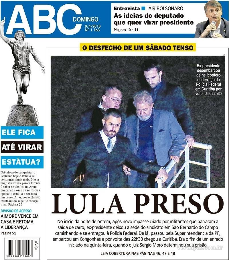 Capa Jornal NH 2018-04-08