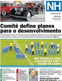 Capa Jornal NH 2018-08-17