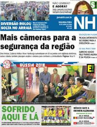 Capa Jornal NH 2018-06-18