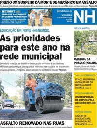 Capa Jornal NH 2018-02-23
