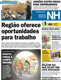 Capa Jornal NH 2018-04-25