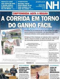 Capa Jornal NH 2019-02-15