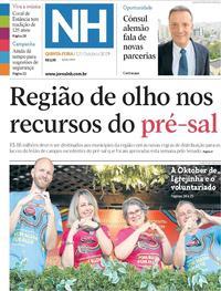 Capa Jornal NH 2019-10-17