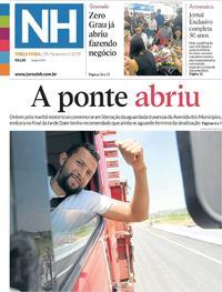 Capa Jornal NH 2019-11-19