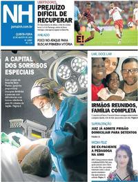 Capa Jornal NH 2019-08-22