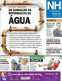 Capa Jornal NH 2019-06-24