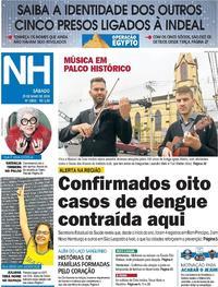 Capa Jornal NH 25/05/2019