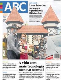 Capa do jornal Jornal NH 03/10/2020