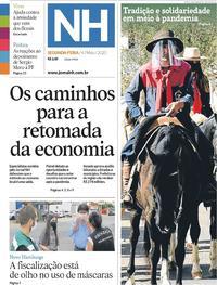 Capa do jornal Jornal NH 04/06/2020