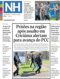 Capa do jornal Jornal NH 04/12/2020