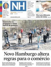 Capa do jornal Jornal NH 05/05/2020