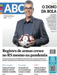 Capa do jornal Jornal NH 05/09/2020