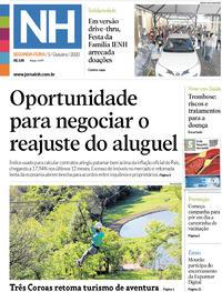 Capa do jornal Jornal NH 05/10/2020