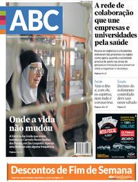 Capa do jornal Jornal NH 09/05/2020