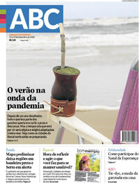 Capa do jornal Jornal NH 12/12/2020