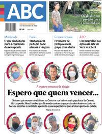 Capa do jornal Jornal NH 17/10/2020