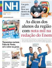 Capa Jornal NH 2020-01-20