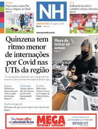 Capa do jornal Jornal NH 20/08/2020