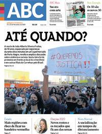 Capa do jornal Jornal NH 21/11/2020