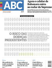 Capa do jornal Jornal NH 23/05/2020