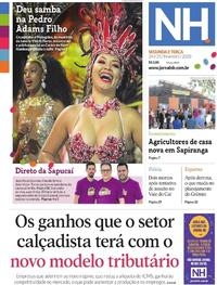 Capa Jornal NH 2020-02-24