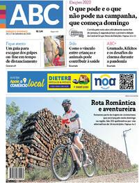 Capa do jornal Jornal NH 26/09/2020