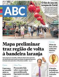 Capa do jornal Jornal NH 26/12/2020