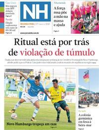 Capa Jornal NH