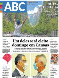 Capa do jornal Jornal NH 28/11/2020