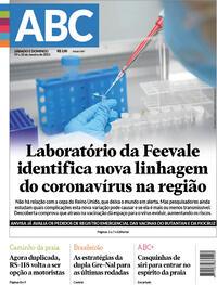 Capa do jornal Jornal NH 09/01/2021