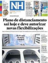 Capa do jornal Jornal NH 14/05/2021